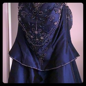 Midnight blue dress/gown